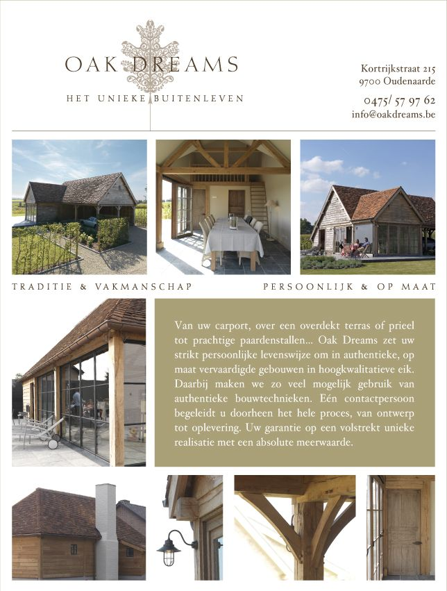oakdreams eiken bijgebouwen van overdekt terras of poolhouse of prieel of paardenstal of carport