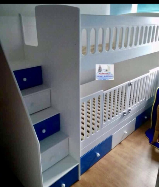 Best Bunk Beds With Removable Cotgates In 2019 Bunk Beds 400 x 300