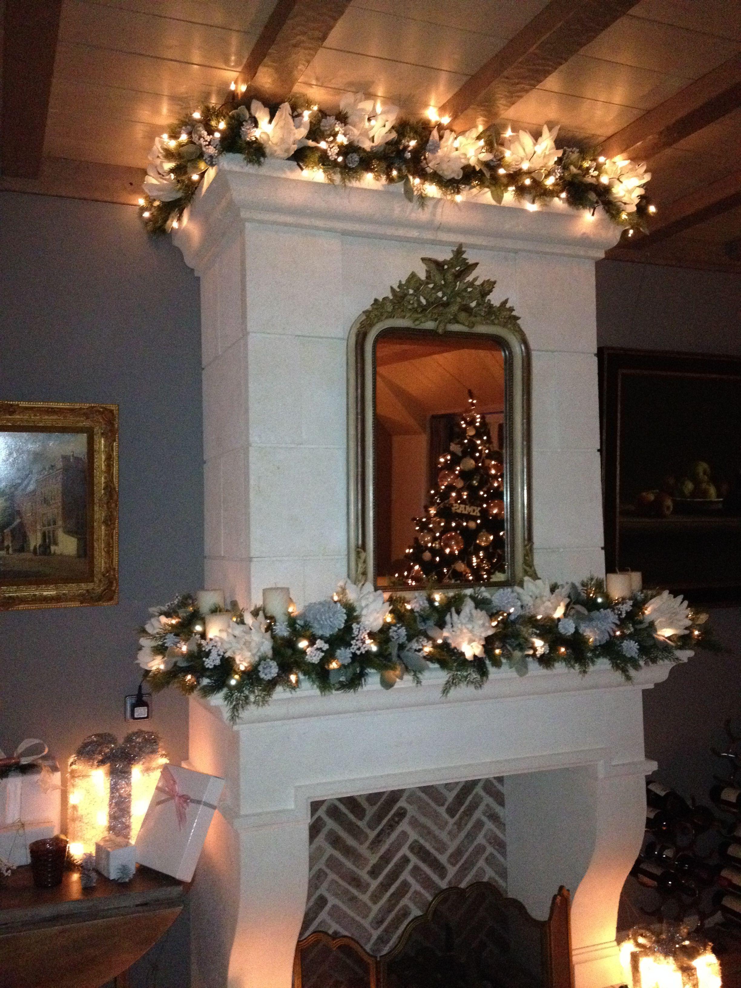 christmas mantle *** kerst schoorsteenmantel (met