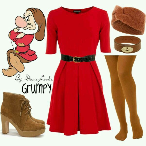Disneybound Grumpy from Snow White and the Seven Dwarfs