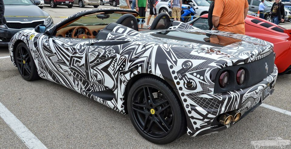 Crazy Print Vehicle Wrap Vehiclewrap Creative Car Wrap Designs