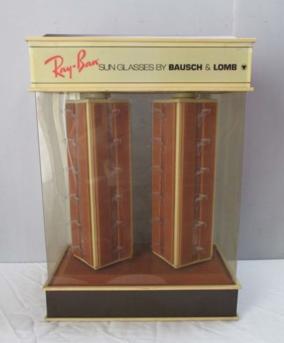 vintage ray ban display