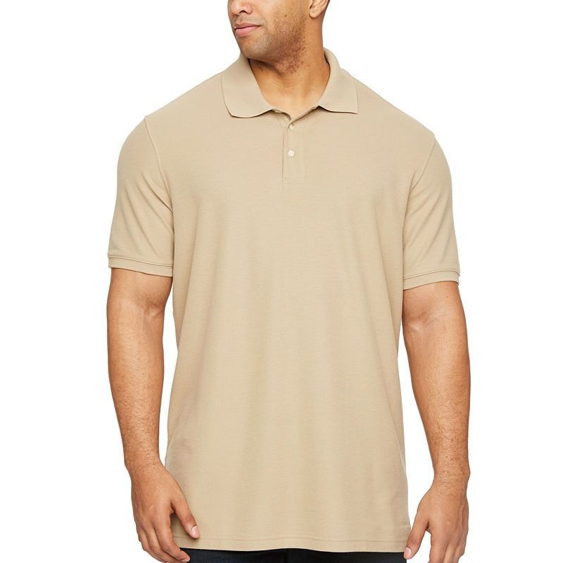 f201a9201015 The Foundry Big & Tall Supply Co. Mens Short Sleeve Polo Shirt Big and Tall
