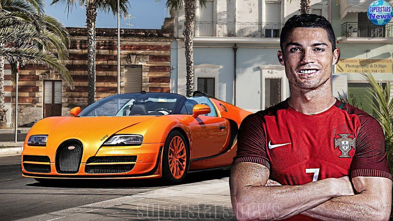 Cristiano Ronaldo's Expensive Car Collection 2018