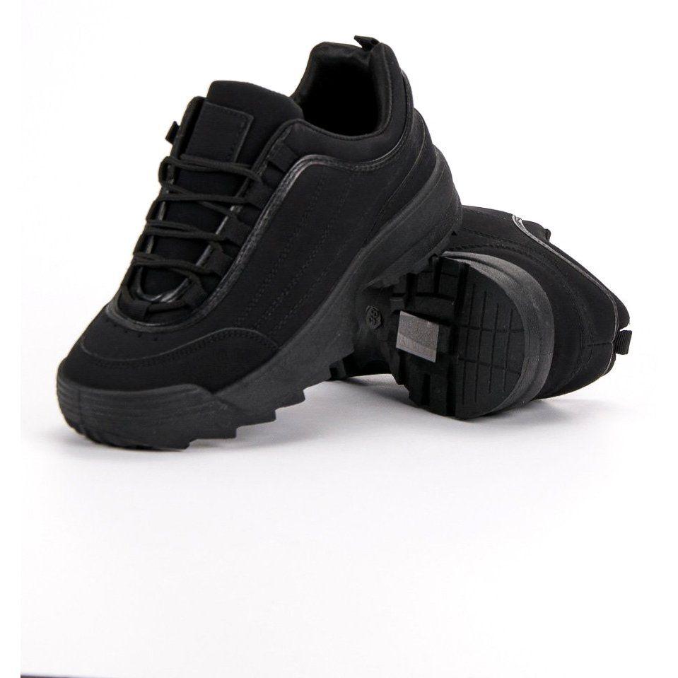 Sneakersy Na Platformie Czarne Air Max Sneakers Sneakers Nike Nike Air