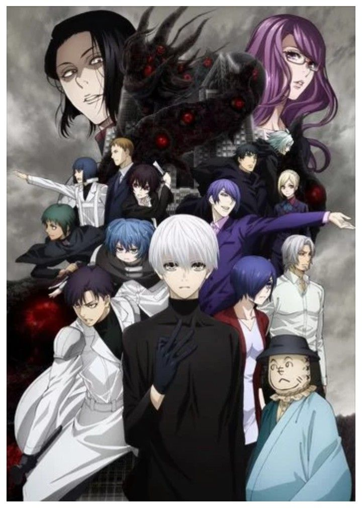 Pin by Robert on Tokyo Ghoul/re Tokyo ghoul, Anime