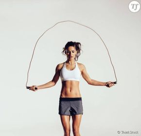 Exercices de corde à sauter pour maigrir