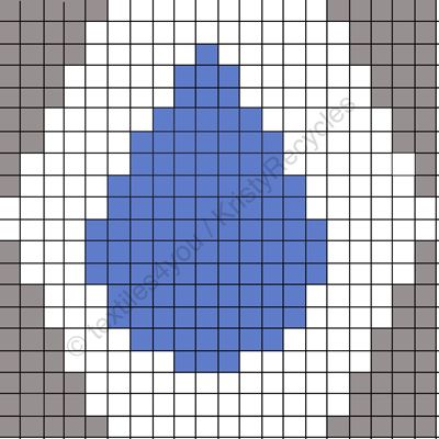 Textiles4you: Just Add Water - 6 Hexipuff Charts