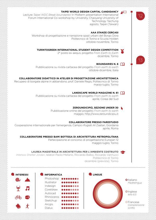 Curriculum vitae by Stefano Scavino, via Behance Recruitment