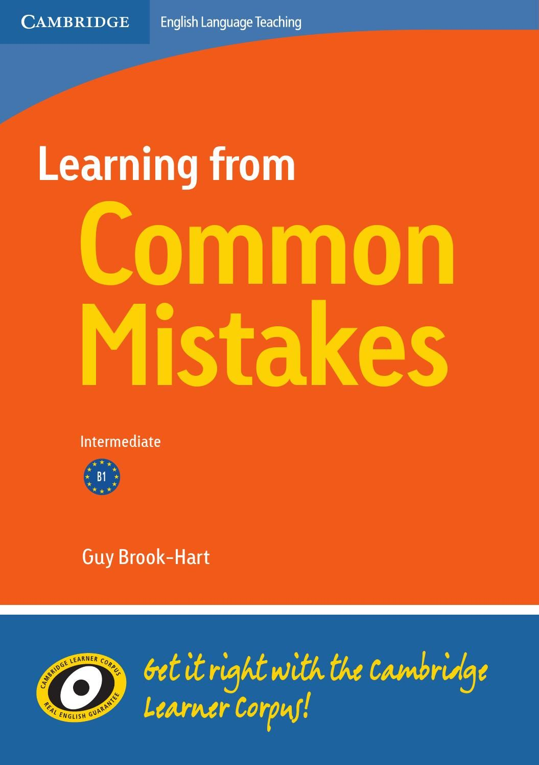 Learning From Common Mistakes