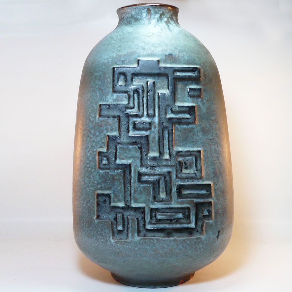 Xl west german pottery floor vase bodenvase 70 s fat lava xl west german pottery floor vase bodenvase 70 s fat lava carstens reviewsmspy