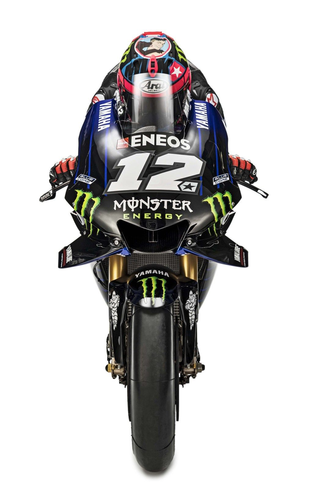 """Beast Mode On"" Livery Debuts for Monster Yamaha MotoGP"