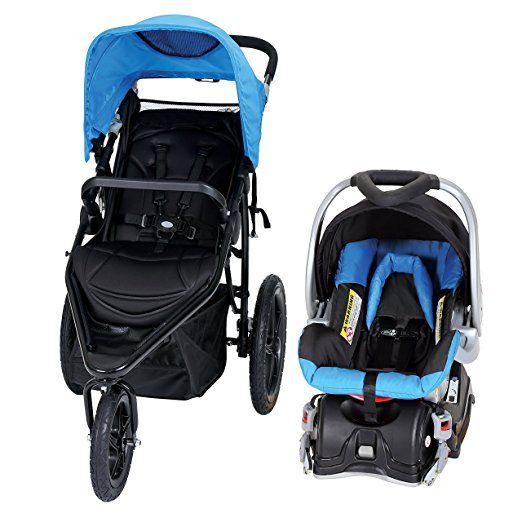0728b067c8489 Amazon.com : Baby Trend Stealth Jogger Travel System, Viola : Baby ...