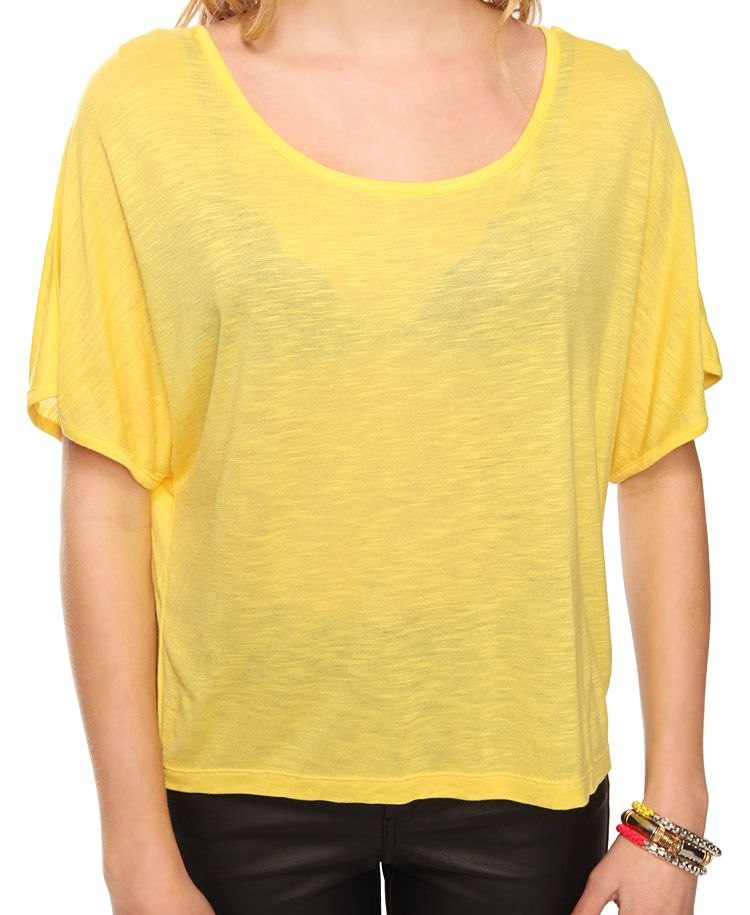 Relaxed Slub Knit Top | FOREVER21 - 2083316254