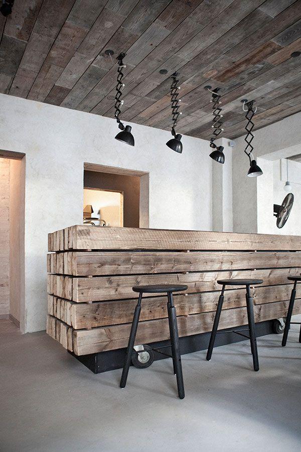 Host Restaurant Rustic Scandinavian Interior Norm Architects Menu Design Denmark Restaurant Interior Interior Restaurant Design