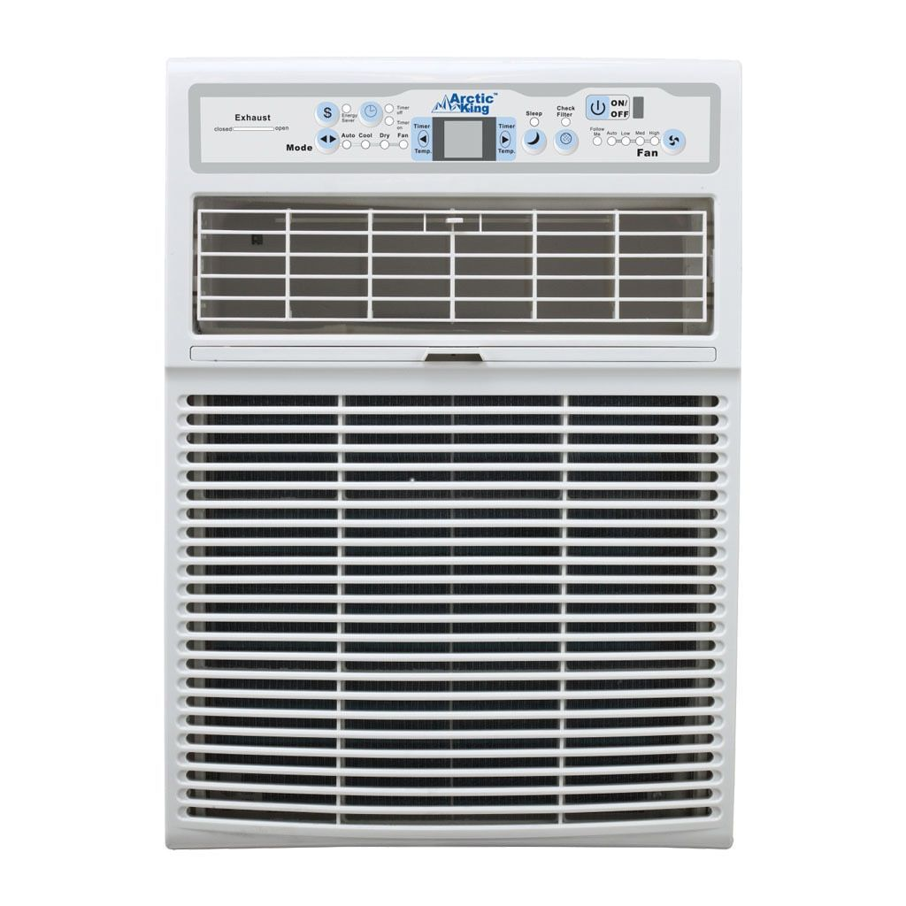 Arctic King 8,000 Btu Slider Casement Wall AC, Cool Only