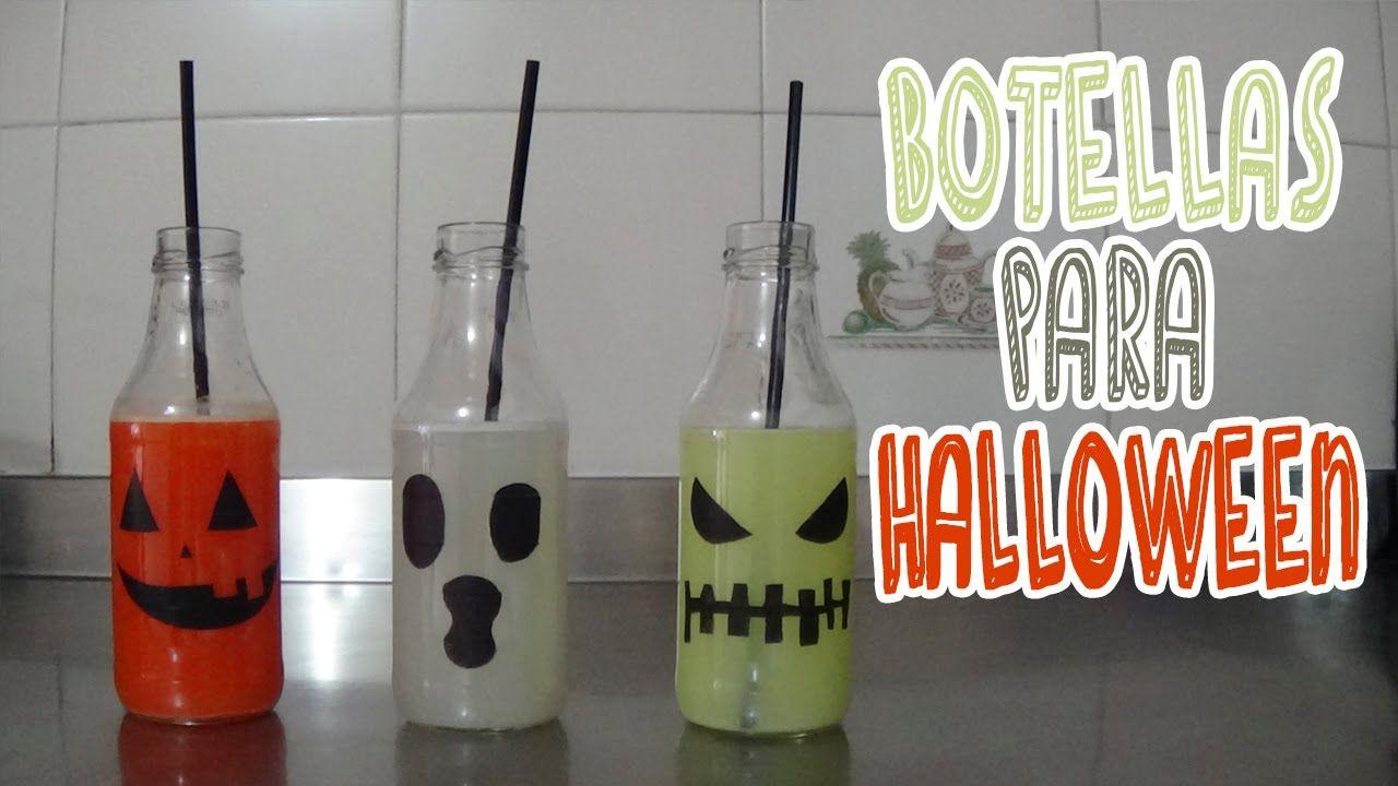 Aprende a hacer estas bebidas espectaculares para la noche de brujas.