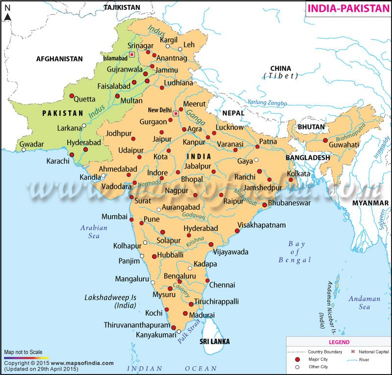 Map Of India And Pakistan Border.India Pakistan Map Download Pakistan Map Pakistan Map