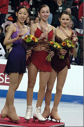 2006 Ladies Champions Find This Pin And More On World Figure Skating