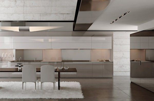 Do It Yourself Home Design: Gorgeously Minimal Kitchens With Perfect Organization
