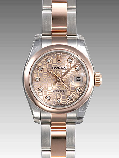 255d17105af Rolex Oyster Perpetual Lady-Datejust 26 Domed Bezel 179161 sjdo ...