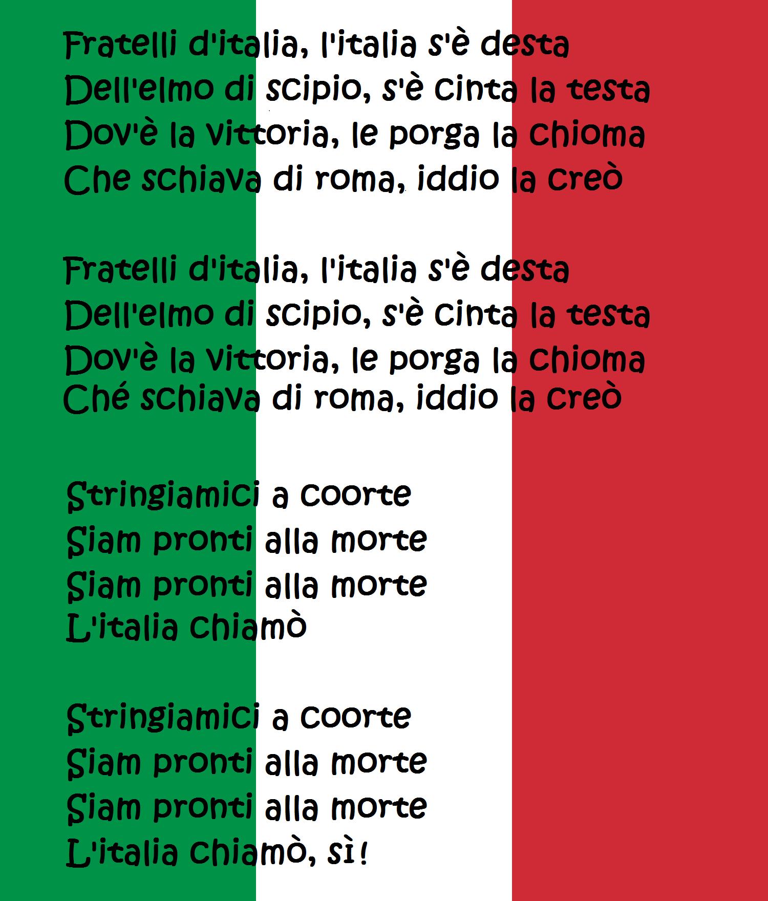 Hymne Italien