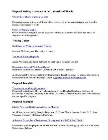 Professional Thesis Proposal Writing Websites For Phd - Experts