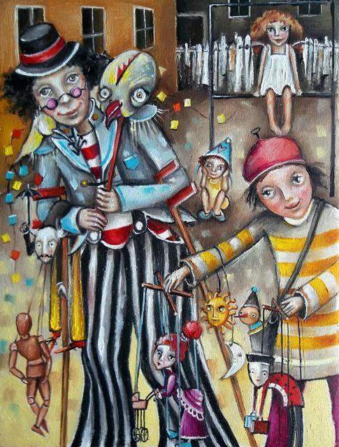 Puppeteers (Monica Blatton)
