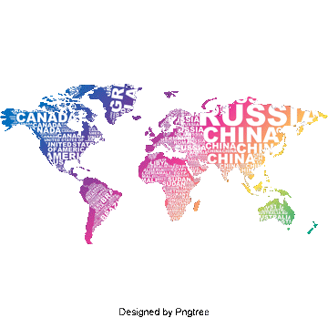 Vector Creative English Letter World Map Png And Psd Mapa Mundi Estampas Africanas Capas Para Portfolio