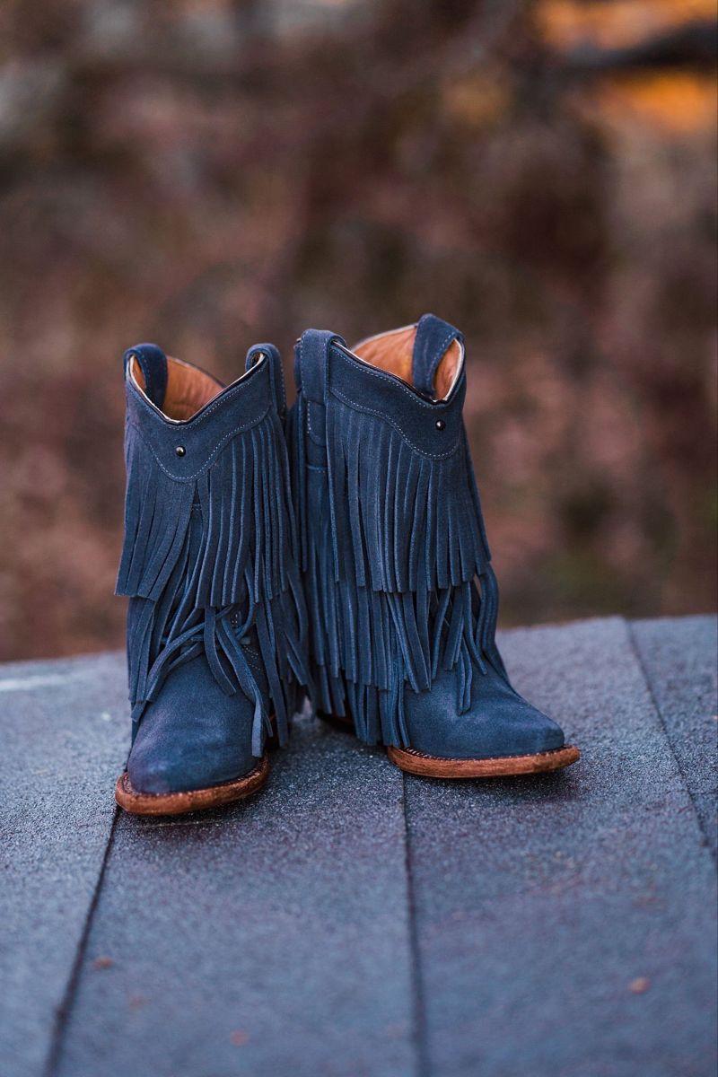 #bluejean #fringeboots #cowgirl #kidsboots