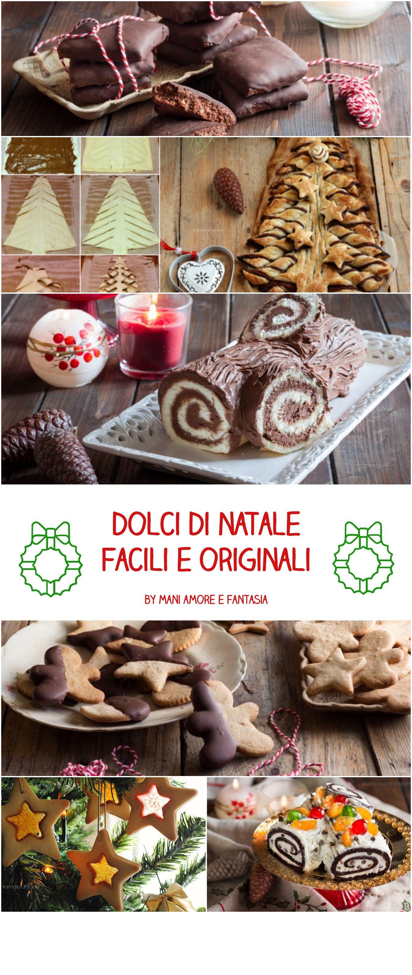 DOLCI DI NATALE, RICETTE FACILI E ORIGINALI! | NATALE | Pinterest ...