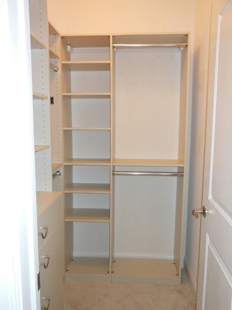 Pin by Me on Organizing Ideas in 2019  Walk in closet