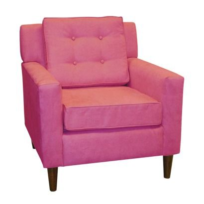 Lucy Upholstered Chair-Hot Pink.from Target. NEED this for the craft ...