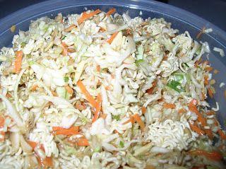 akawest: Ramen Salad