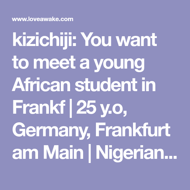 african dating in germany