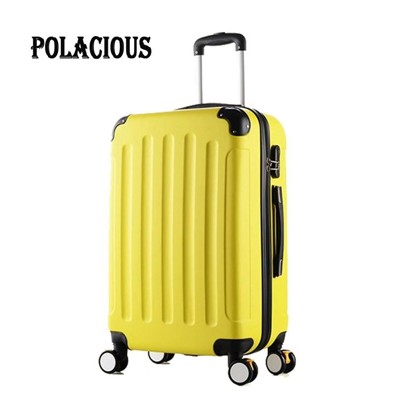 High Quality – 24 inch Classic Striped, Hardshell Spinner Wheel Luggage / Suitcase