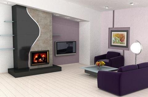 modern living room interior design, a very good idea for a simple