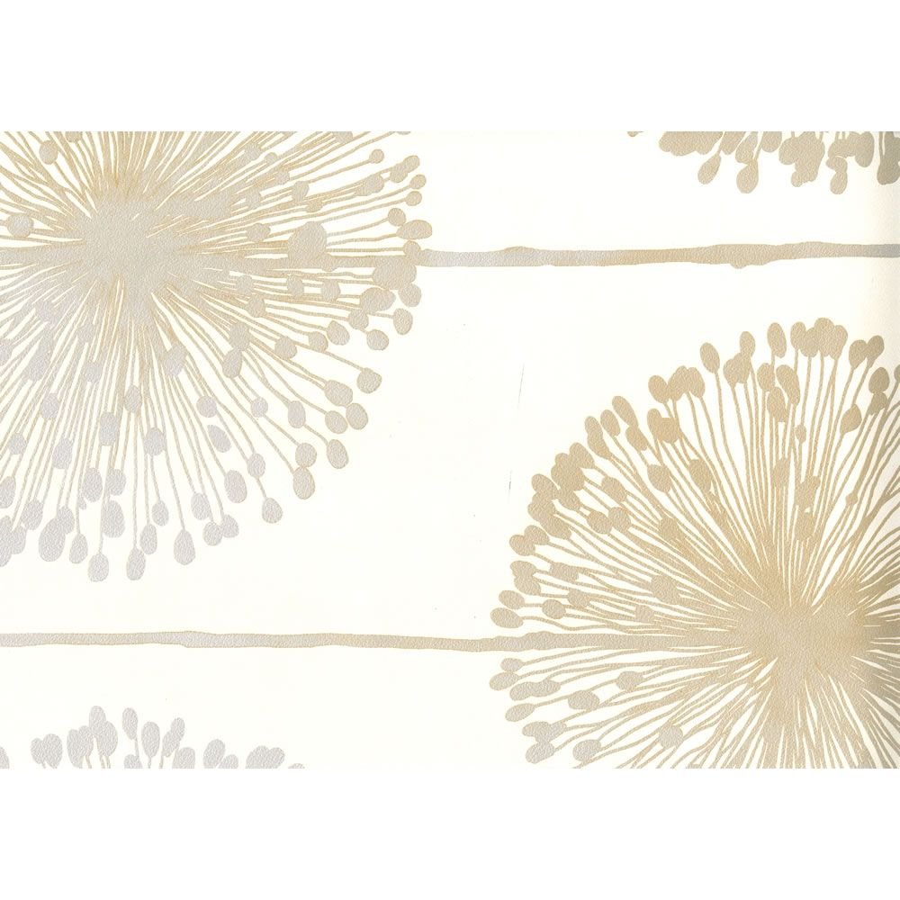 Muriva Dandelion Beige Wallpaper J04207 Dandelion Wallp