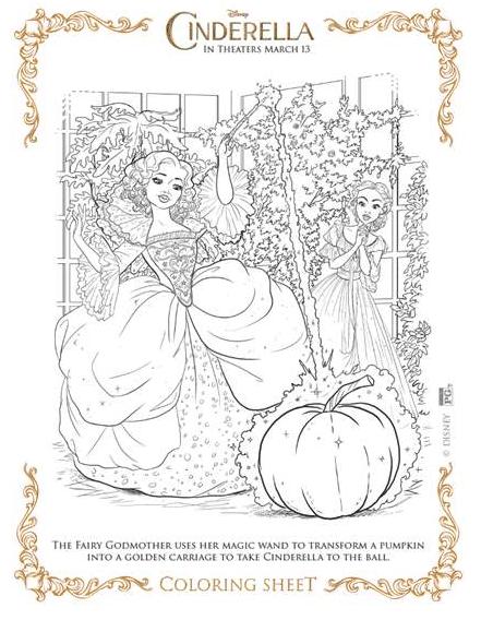 Disney Printables Cinderella Coloring Pages Disney Coloring Pages Family Coloring Pages