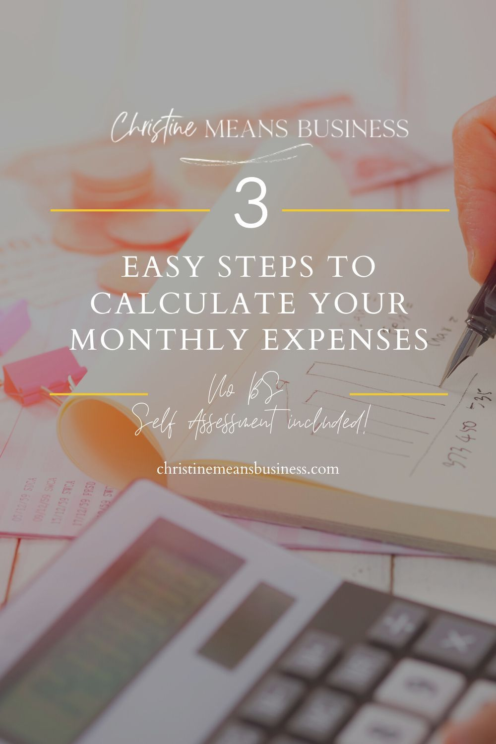 3 Easy Steps To Calculate Your Monthly Expenses Clueless Quotes Financial Planning Printables Money Mindset Quotes
