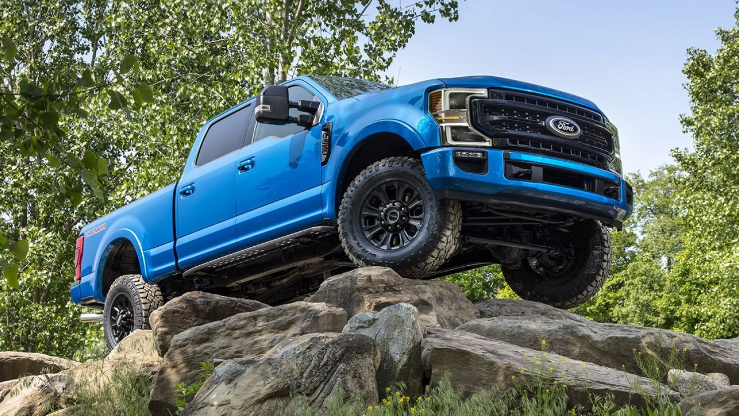 The Ford F Series Tremor Is A Godzilla Powered Monster Truck