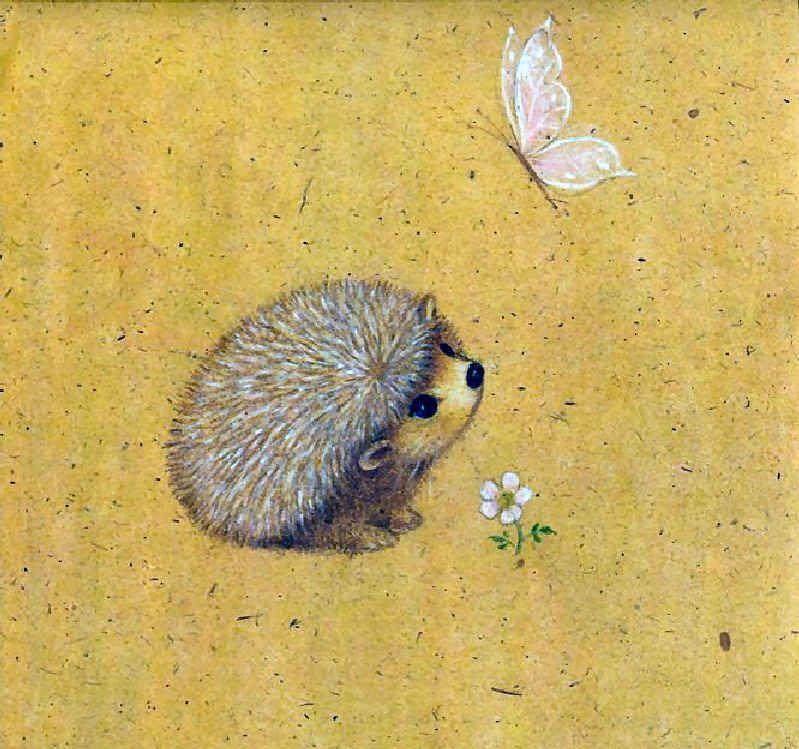Calendario 1976.Calendario 1976 Ruth Morehad Nursery Hedgehog Art Cute