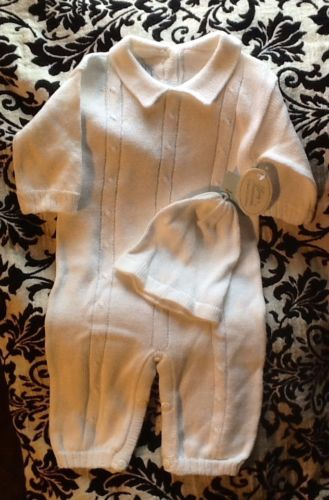 Baby's Trousseau Classic Collection Romper with hat