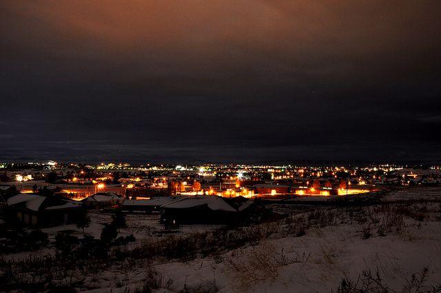 Wyoming Evening