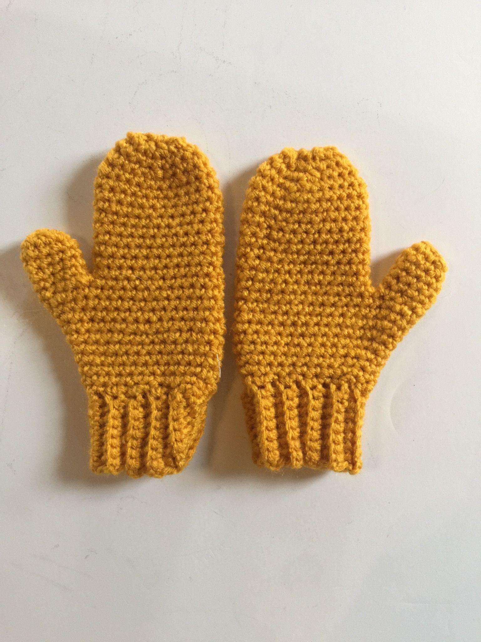 75c3f7320a33 Handmade Crochet Mittens Crochet Mittens