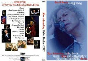David Bowie 2002-09-22 Berlin 2002-Max Schmeling Halle,Berlin,Germany