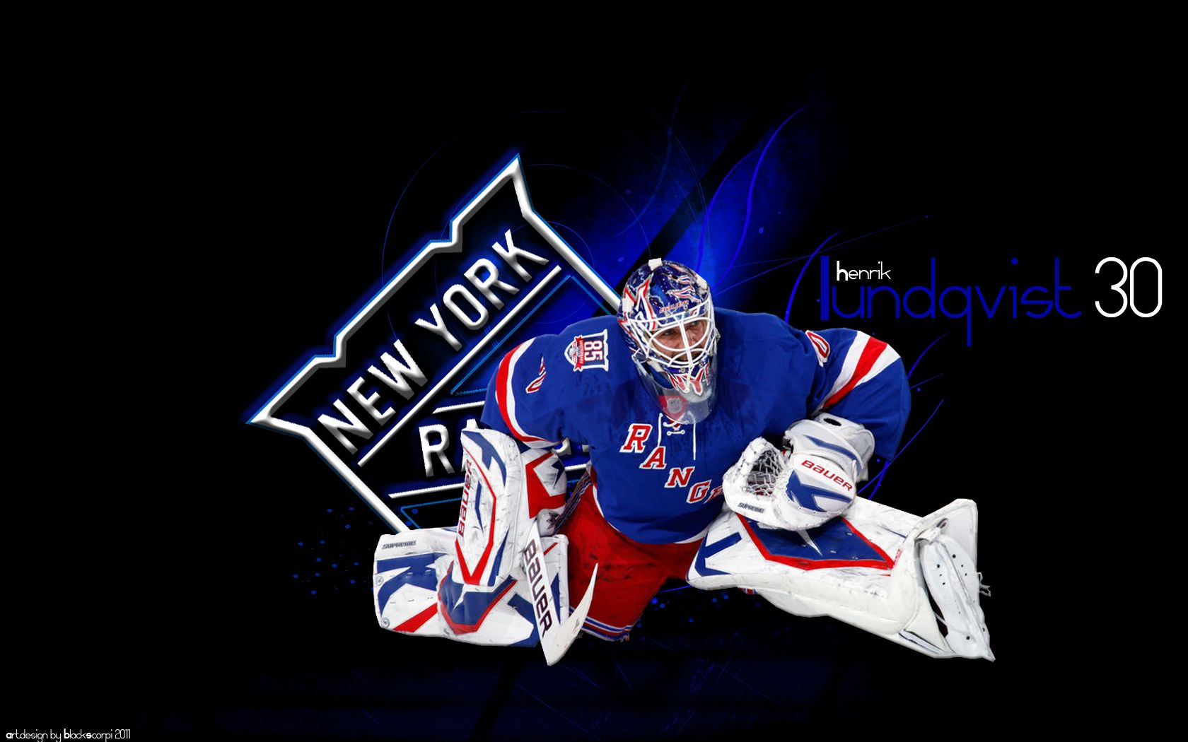 Henrik Lundqvist All New York Rangers New York Rangers York