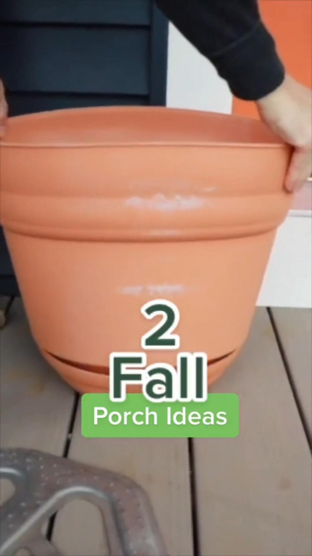 2 Easy Fall Porch Decor Ideas