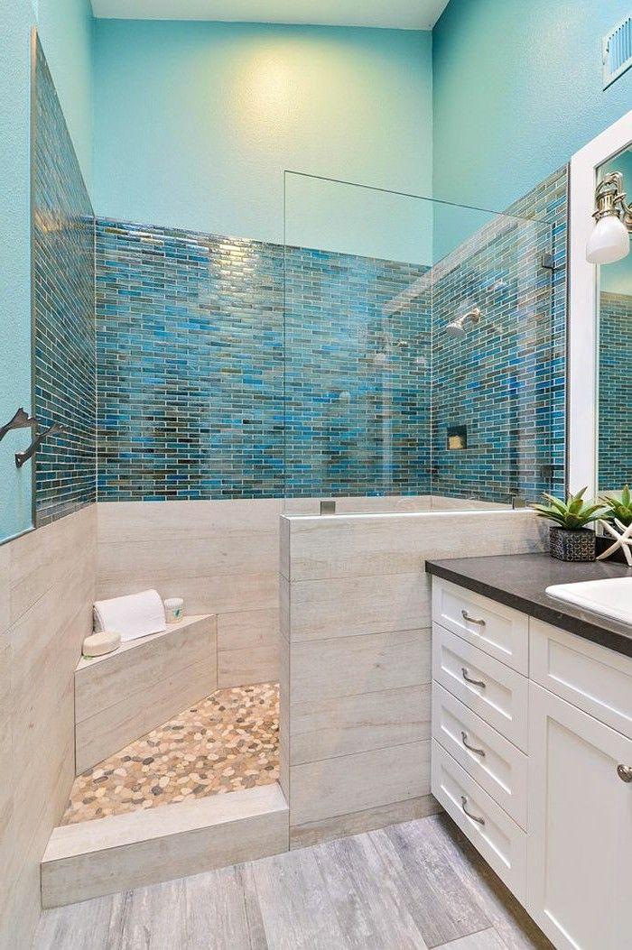 ▷ 1001+ designs uniques pour une salle de bain turquoise Pinterest