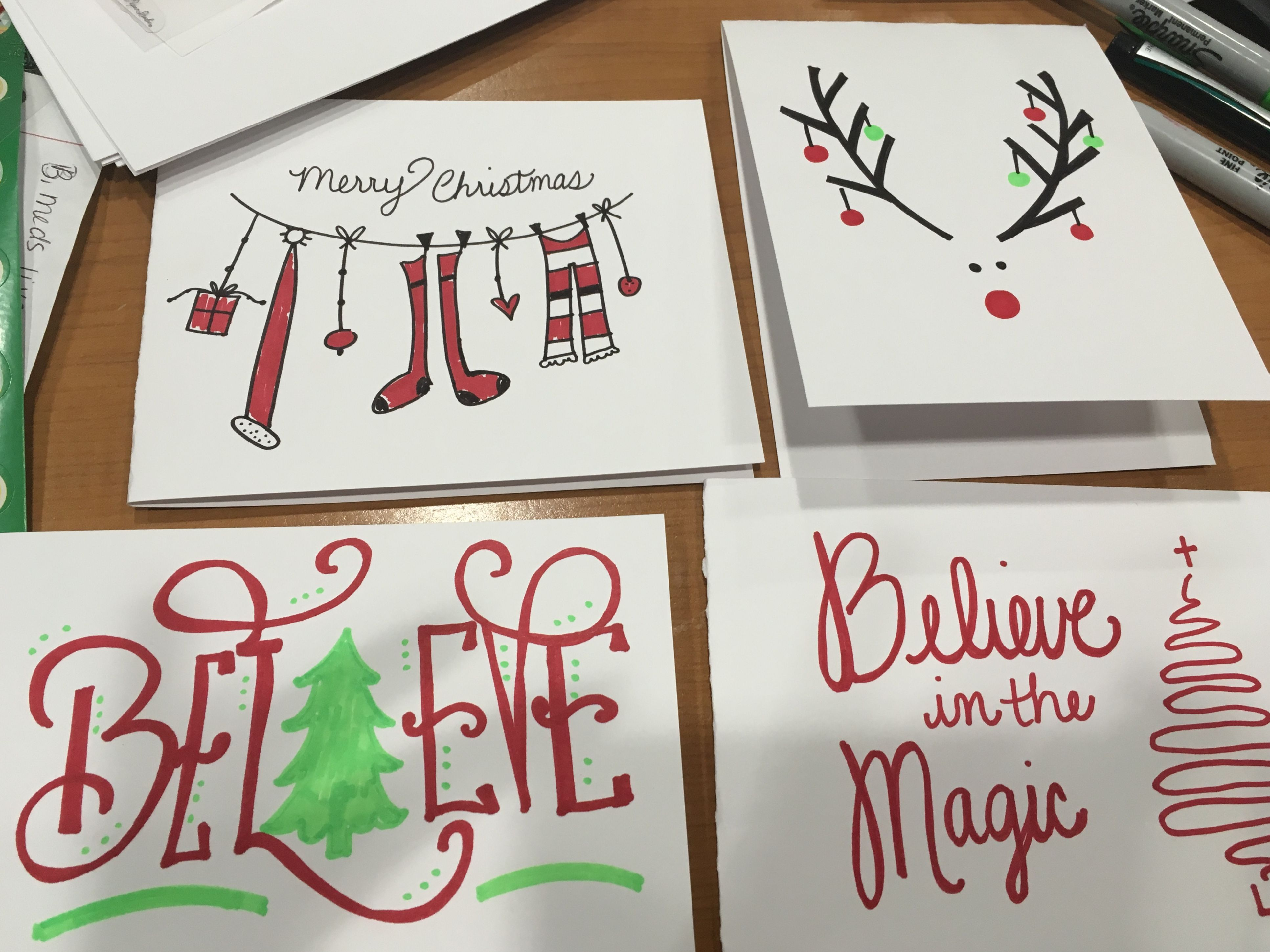 Homemade Holiday Cards With Images Christmas Cards Christmas